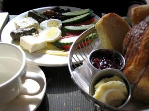 Turquía desayuno