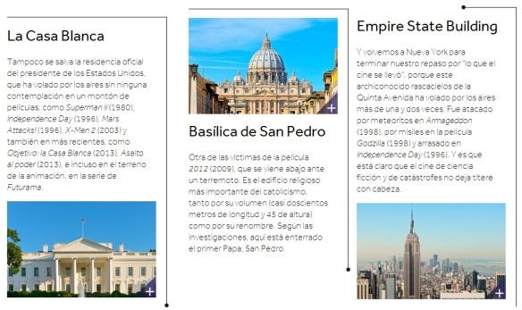 Destinos turísticos más destruidos en cine - USA, Vaticano