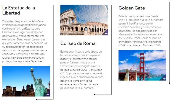 Destinos turísticos más destruidos en cine - USA, Italia