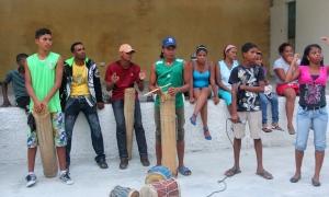 Tambores en Birongo