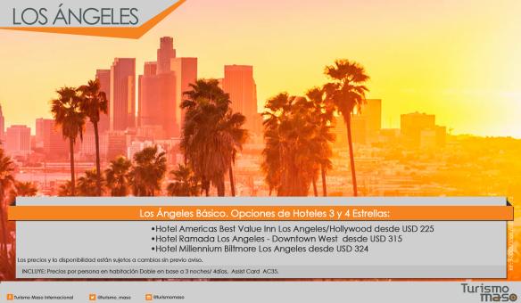 Los Ángeles 3 y 4 estrellas