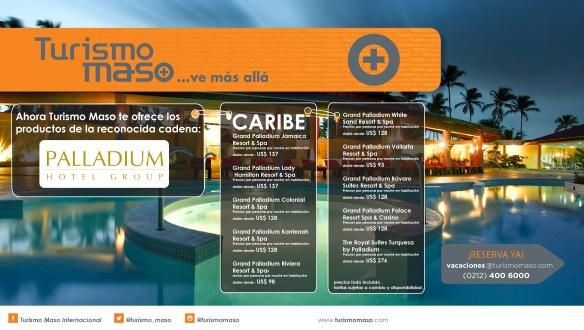 Hoteles Palladium Caribe