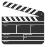 clapper board clip art