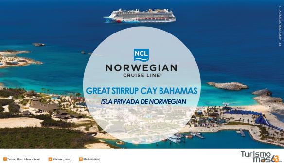 Isla privada Great Stirrup Cay Bahamas
