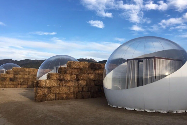 Campera Hotel Burbuja - Exterior