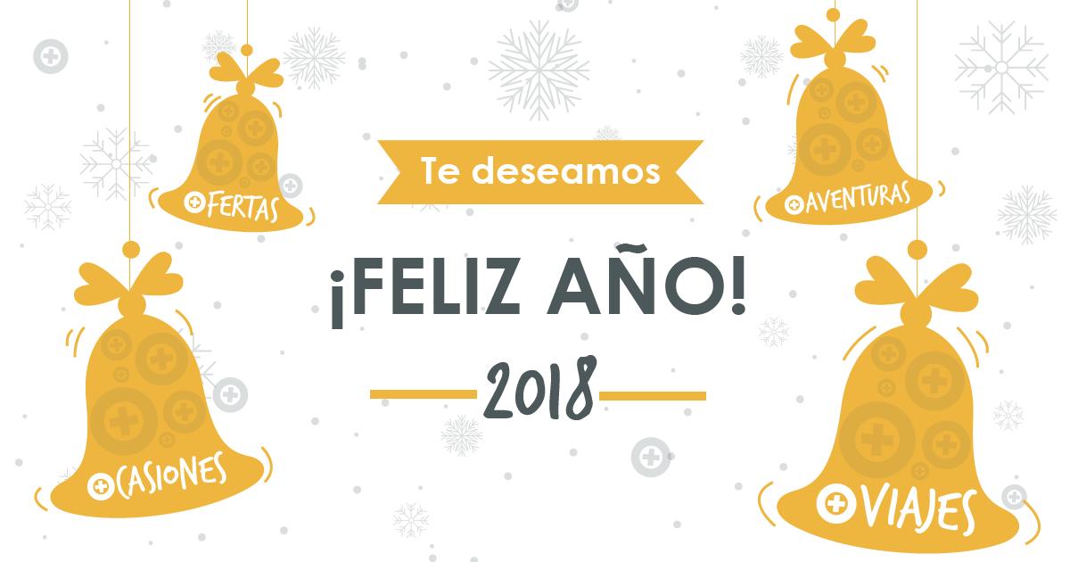 Te deseamos... ¡FELIZ AÑO 2018!
