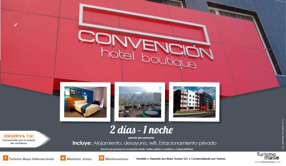 ¡Goza del Hotel Boutique Convención!