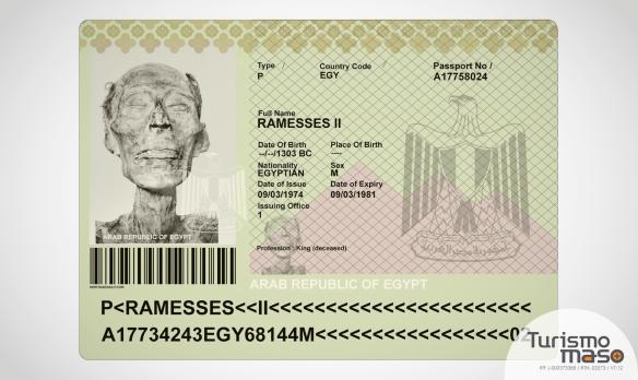Pasaporte de Rameses