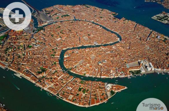 Venecia vista aérea