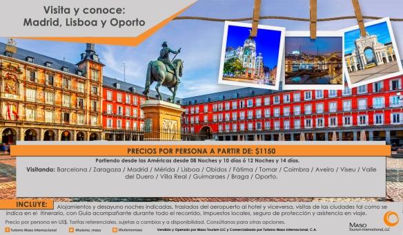 Flyer mes tematico MADRID USA